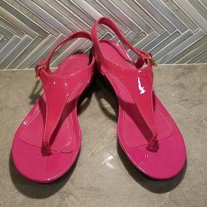 Ralph Lauren hot pink Sandals